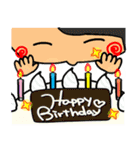 誕生日おめでとう SET 2(個別スタンプ:15)