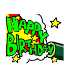 誕生日おめでとう SET 2(個別スタンプ:22)