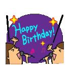 誕生日おめでとう SET 2(個別スタンプ:26)