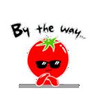 トマト好きのためのきなりちゃん(個別スタンプ:03)