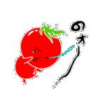 トマト好きのためのきなりちゃん(個別スタンプ:23)
