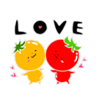 トマト好きのためのきなりちゃん(個別スタンプ:40)