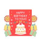 大人の誕生日お祝い♥春夏秋冬季節イベント(個別スタンプ:04)