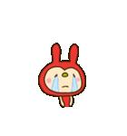 リンゴうさぎちゃん(基本セット)(個別スタンプ:26)