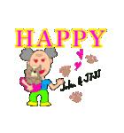 HAPPY-JIJI(個別スタンプ:03)