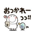 まるぴ★でか文字Lサイズ(個別スタンプ:09)