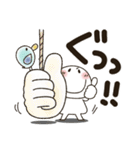 まるぴ★でか文字Lサイズ(個別スタンプ:38)