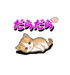 ちび猫2 でか文字オノマトペ(個別スタンプ:19)