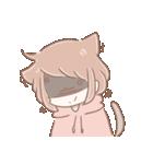 猫耳女子と猫耳男子(個別スタンプ:05)