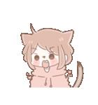 猫耳女子と猫耳男子(個別スタンプ:06)