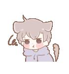 猫耳女子と猫耳男子(個別スタンプ:07)