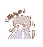 猫耳女子と猫耳男子(個別スタンプ:18)