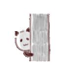 パンダのような犬のような(個別スタンプ:18)