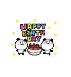 動く!大切な人へ♡誕生日お祝いセット(個別スタンプ:02)