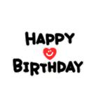 動く!大切な人へ♡誕生日お祝いセット(個別スタンプ:05)