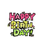 動く!大切な人へ♡誕生日お祝いセット(個別スタンプ:06)
