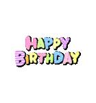 動く!大切な人へ♡誕生日お祝いセット(個別スタンプ:11)