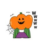 ぴよぴよ夫婦8 halloween /Xmas /年末年始(個別スタンプ:02)