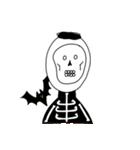 ぴよぴよ夫婦8 halloween /Xmas /年末年始(個別スタンプ:03)
