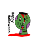 ぴよぴよ夫婦8 halloween /Xmas /年末年始(個別スタンプ:08)