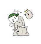 ぴよぴよ夫婦8 halloween /Xmas /年末年始(個別スタンプ:11)