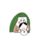 ぴよぴよ夫婦8 halloween /Xmas /年末年始(個別スタンプ:29)