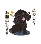 気軽にアメコカ(ブラック) 行動編(個別スタンプ:08)