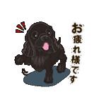 気軽にアメコカ(ブラック) 行動編(個別スタンプ:09)