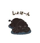 気軽にアメコカ(ブラック) 行動編(個別スタンプ:22)