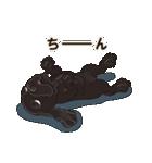 気軽にアメコカ(ブラック) 行動編(個別スタンプ:23)
