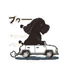 気軽にアメコカ(ブラック) 行動編(個別スタンプ:27)