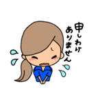 部活応援☆ママ(個別スタンプ:22)