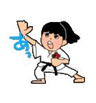 少林寺拳法(頑張れ娘ver.)(個別スタンプ:01)