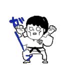 少林寺拳法(頑張れ娘ver.)(個別スタンプ:15)