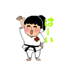 少林寺拳法(頑張れ娘ver.)(個別スタンプ:19)