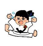少林寺拳法(頑張れ娘ver.)(個別スタンプ:22)