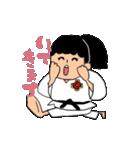 少林寺拳法(頑張れ娘ver.)(個別スタンプ:23)