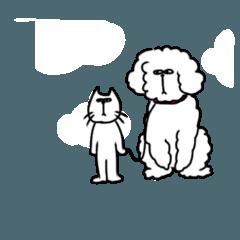 ハナオの愛犬スタンダードプードルのハナミ