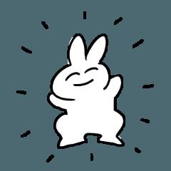 ウサギの戯れ