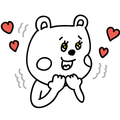 ラクガキ調☆くまフレンド2【うさぎ】