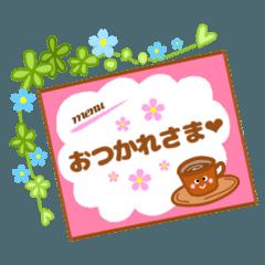 flower  cafe☆おとな可愛い