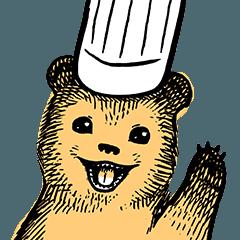 [LINEスタンプ] こぐまのケーキ屋さん