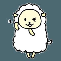 シロヒのモコ羊(文字なし) その2