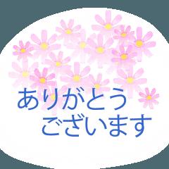 [LINEスタンプ] 花かたらい 2の画像(メイン)