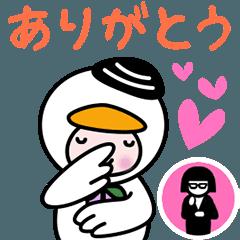 動く★とまチョップ【手話大使】
