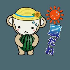 子猿のさるこ 4  ~夏バージョン
