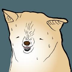玖島川の柴犬スタンプ