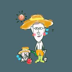 犬と飼い主の日常