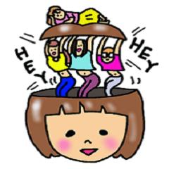 ママ友たちの日常スタンプ 3