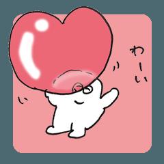 [LINEスタンプ] 大丈夫なきもちになる 大好き伝われ〜!